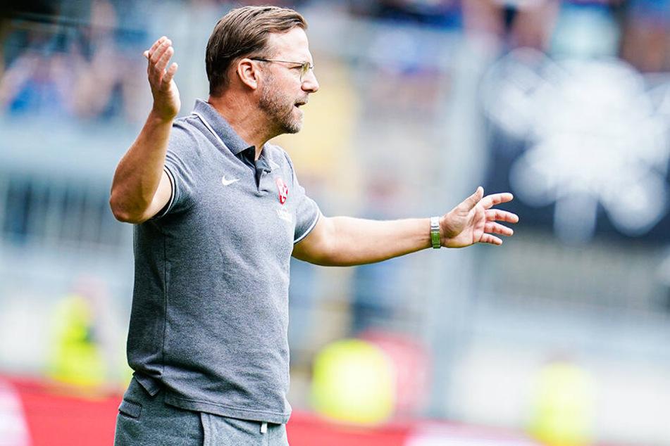 Sascha Hildmann steht beim 1. FC Kaiserslautern vor dem Aus.