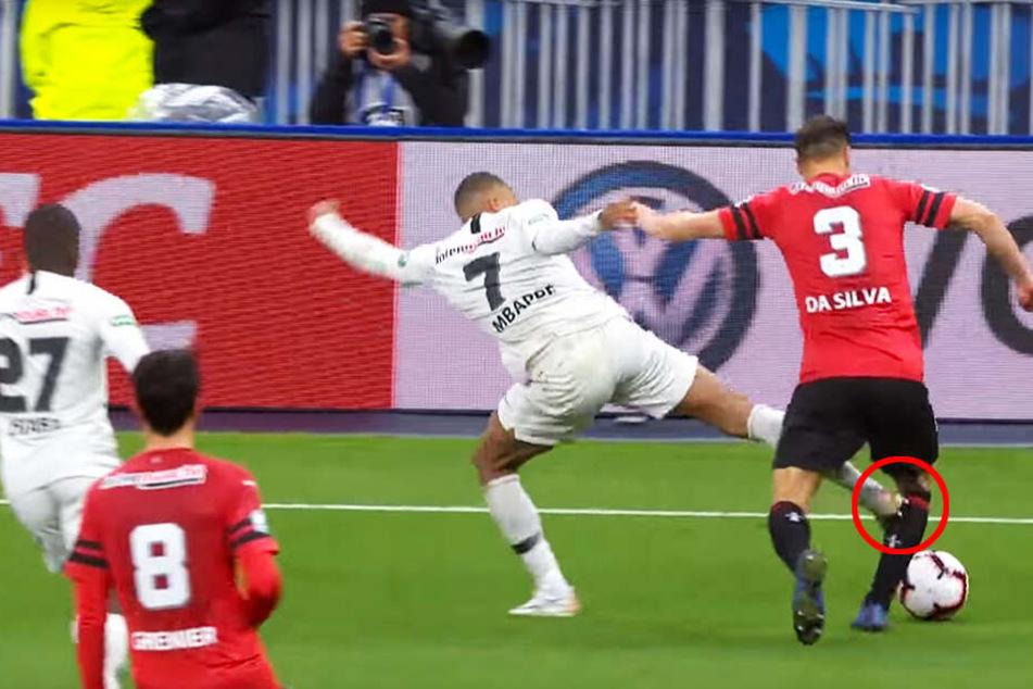 Übler Tritt von PSG-Star Mbappé, Neymar wird handgreiflich!