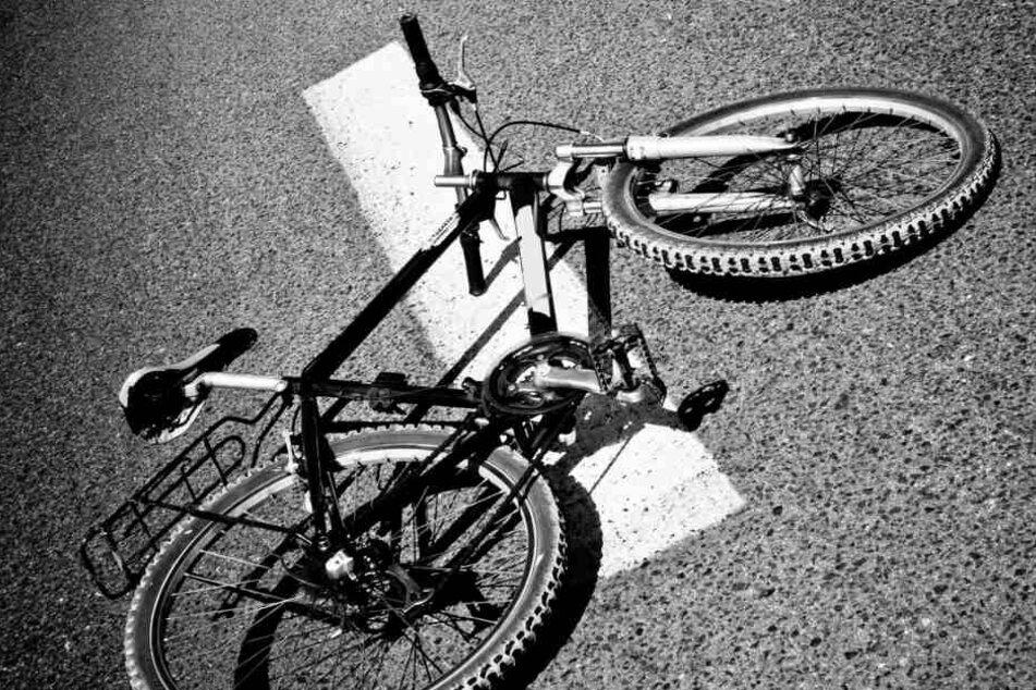 Drei Radler in Leipzig angefahren und verletzt