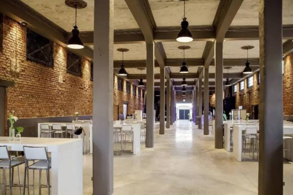 Ein Flügel der neuen Ostra-Studios. Zur Party wird natürlich noch umgebaut.