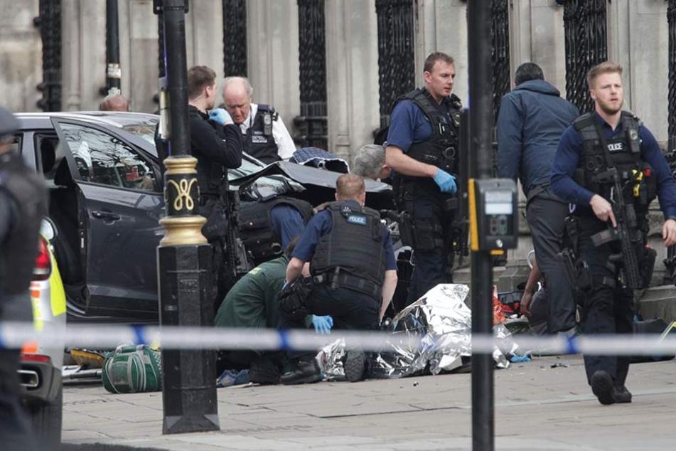 IS-Terrormiliz beansprucht Londoner Terroranschlag für sich