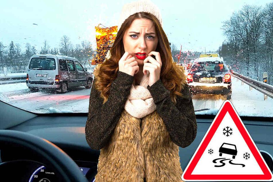 In den kommenden Tagen könnte es auf den Straßen in Deutschland gefährlich glatt werden.
