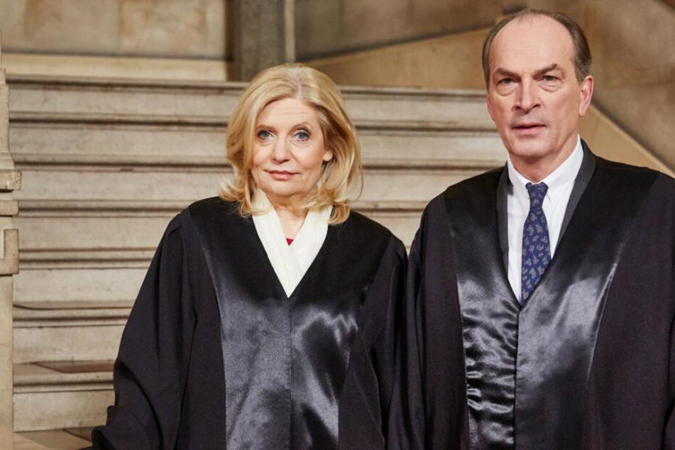 In der Serie spielen die beiden zwei Anwälte.