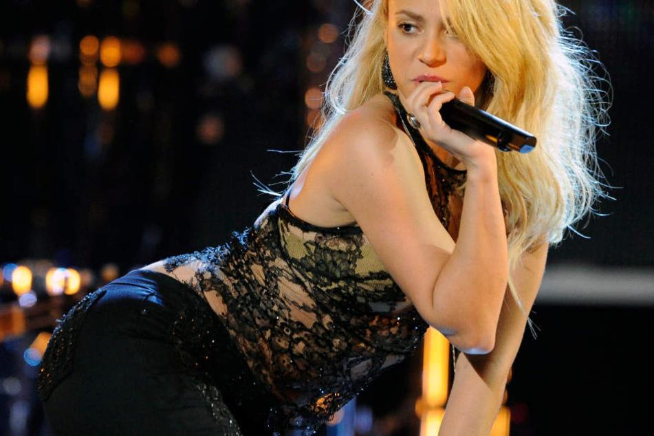 Shakira während einer Show.