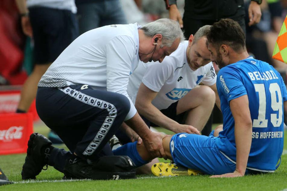 Verletzte sich beim Duell mit dem FSV Mainz 05 am 34. Spieltag: TSG-Stürmer Ishak Belfodil.