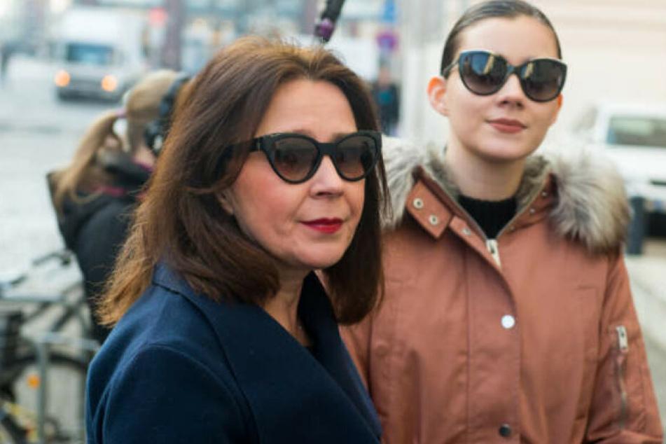 Nathalie Volk begleitete ihre Mutter zu zahlreichen Gerichtsterminen.