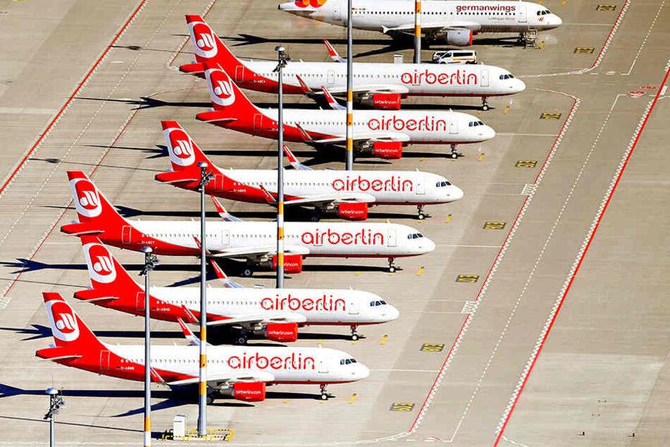 Bei den Ländern Berlin und Nordrhein-Westfalen hatte Air Berlin einen Bürgschaftsantrag gestellt. (Symbolbild)