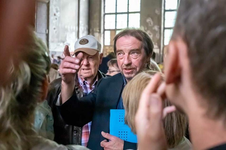 Thomas Morgenstern (65), Leiter der Denkmalschutzbehörde, sieht eine Mischnutzung als eheste Lösung. Schließlich umfasst die Fabrik sagenhafte 30000 Quadratmeter.