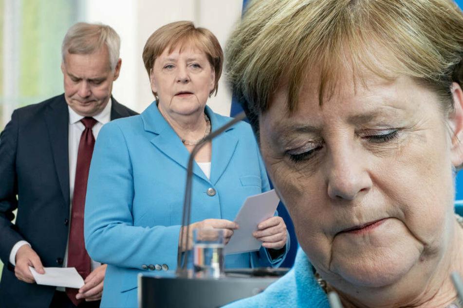 Angela Merkel: dritter Zitteranfall - jetzt spricht die Kanzlerin selbst!
