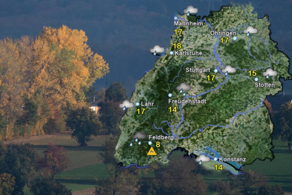Beim Wetter in Baden-Württemberg ist von allem etwas dabei