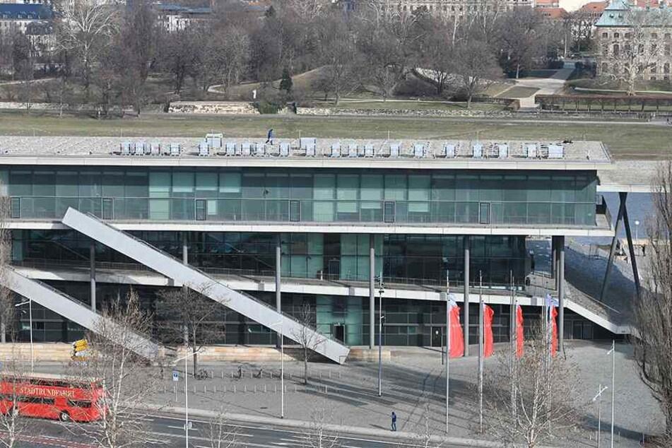 Anfang des Jahres bekam auch das Internationale Congress Center Dresden eine Solaranlage aufs Dach.