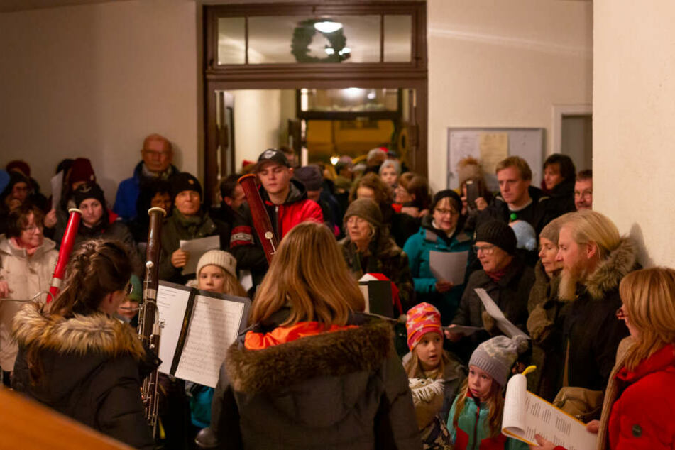 Im vergangenen Jahr beglückten Gastgeber auf dem Kaßberg ihr Publikum mit einem Oboen-Konzert.