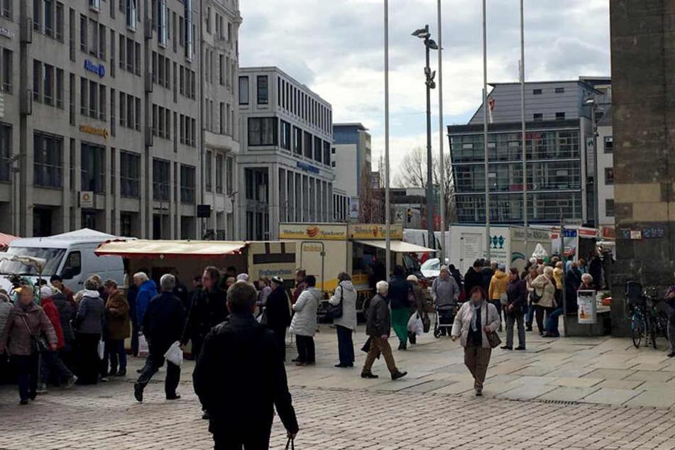 """Sturm Bennet fegt Chemnitzer """"Jahrmarkt"""" weg, Tierpark und Wildgatter schließen"""
