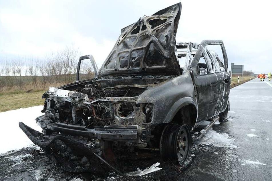 Der Wagen war nicht mehr zu retten.