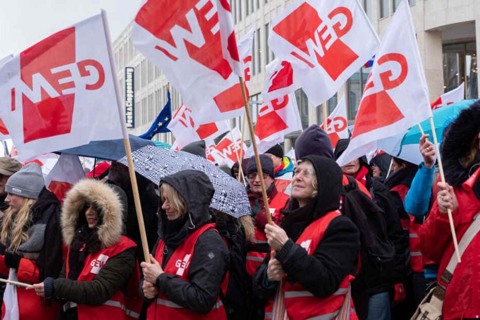 Die GEW hat die Fachkräfte zum Streik aufgerufen.