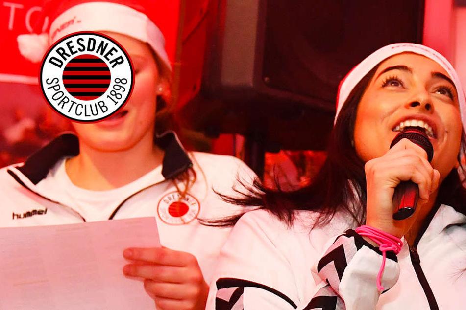 Gut geschmettert! DSC-Girls siegen und singen mit Hingabe