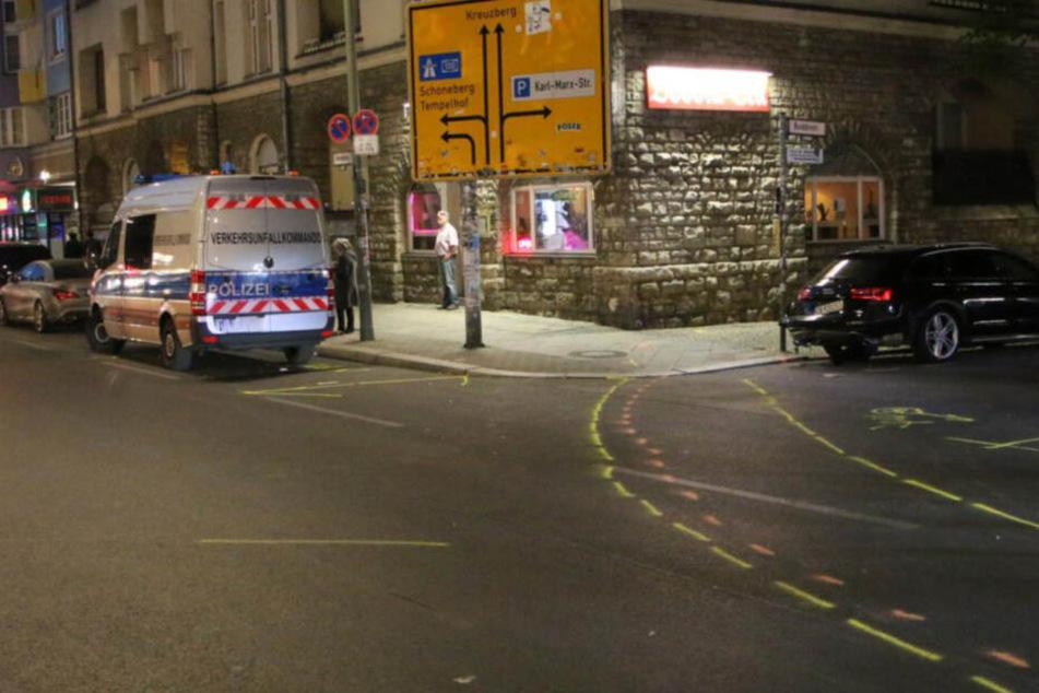 Polizisten krachen in parkendes Auto und retten damit vermutlich ein Leben