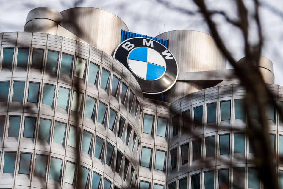 Die BMW Zentrale in München.