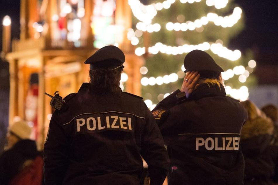 Die Thüringer Polizei wird auf dem Weihnachtsmarkt präsent sein.