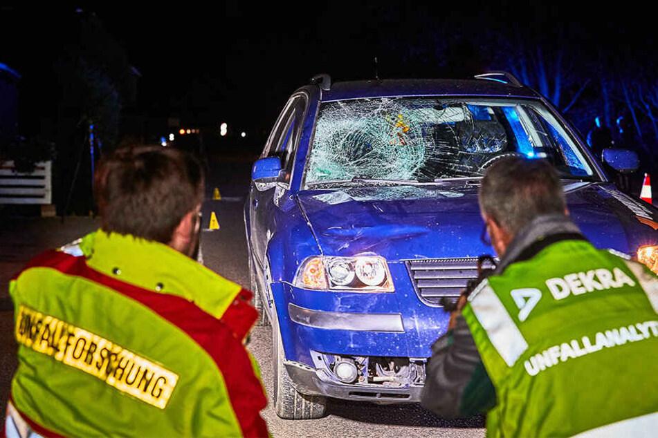Der betrunkene Matthias Z. (54) erfasste Cornelia P. (57) mit der rechten Fahrzeugseite.