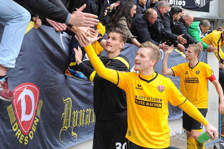 Marco Hartmann freut sich über die letzten Erfolge - und über Neuzugang Erich Berko.
