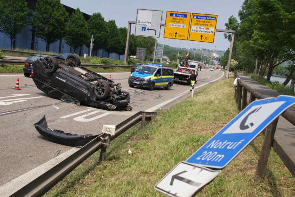 Infolge des Unfalls war ein kilometerlanger Stau entstanden. (Symbolbild)