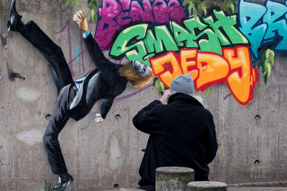 """Graffiti-Künstler können sich in Zukunft an der legalen """"Leinwand"""" austoben. (Symbolbild)"""