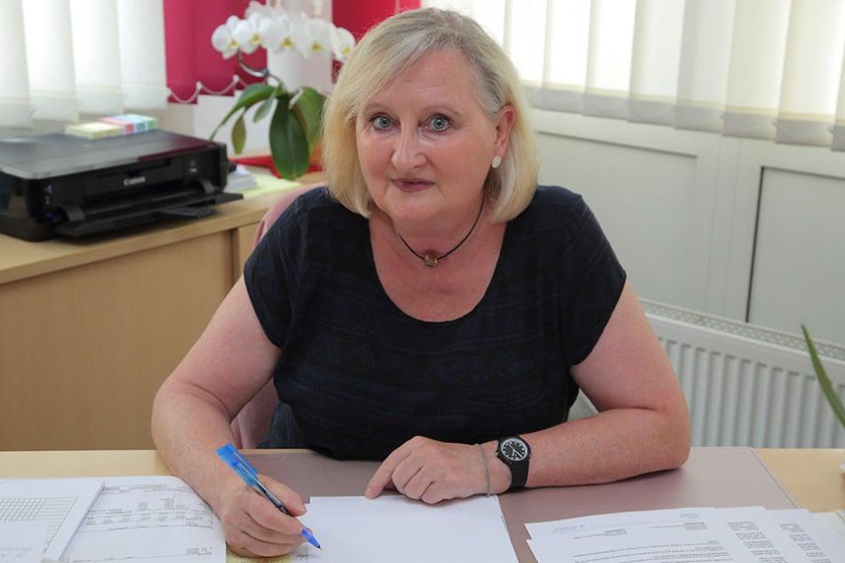 Katrin Knörndel (61), Chefin des Demokratischen Frauenbund (dfb), muss den Standort aufgeben.