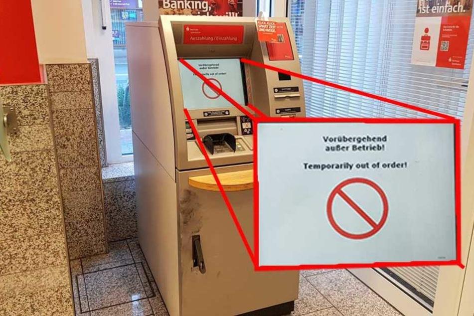 Das hatten sich zwei Automaten-Knacker auch leichter vorgestellt
