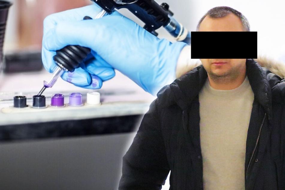 Krimineller Farben-Händler ergaunerte sich mit gefälschter Tattoo-Tinte 10.000 Euro!