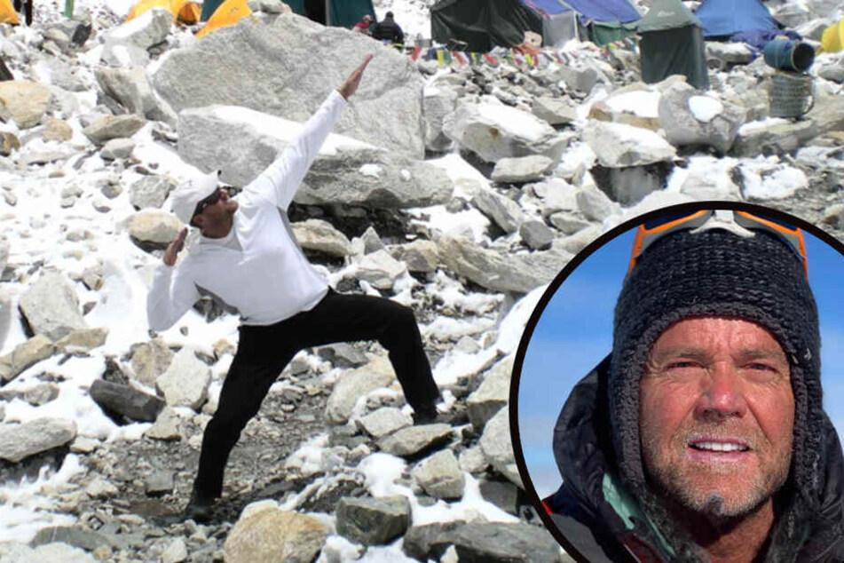Am Mittwoch starb der eigentlich erfahrene Bergsteiger dann beim Abstieg.