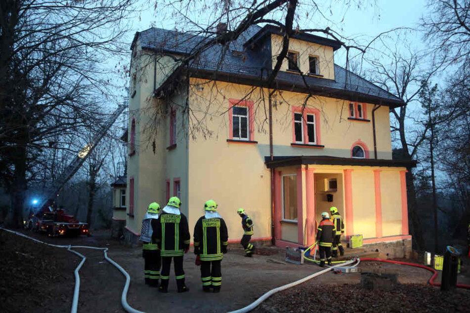 In dieser Gemeinschaftsunterkunft hatte der Mann Feuer gelegt.