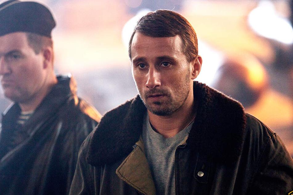 Mikhail Averin (Matthias Schoenaerts) kämpft mit seinen Männern auf der Kursk ums Überleben.