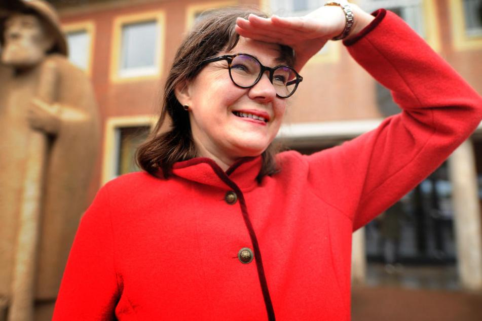 Sabine Amsbeck-Dopheide ist Bürgermeisterin von Harsewinkel und vertritt eine klare Meinung.