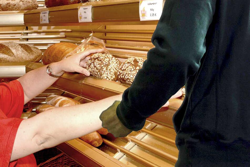 Die Bäckersfrau flüchtete nach dem Angriff blutüberströmt in ein nahegelegenes Bistro (Symbolbild).