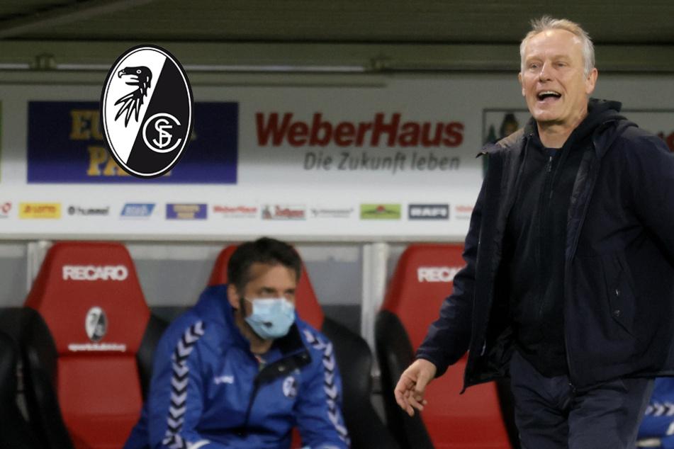 Trotz Corona: Freiburgs Coach Christian Streich eskaliert bei Jubel nach Sieg über Gladbach völlig