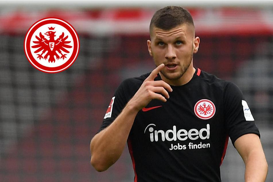 Ante Rebic stürmt bis 2021 für Eintracht Frankfurt