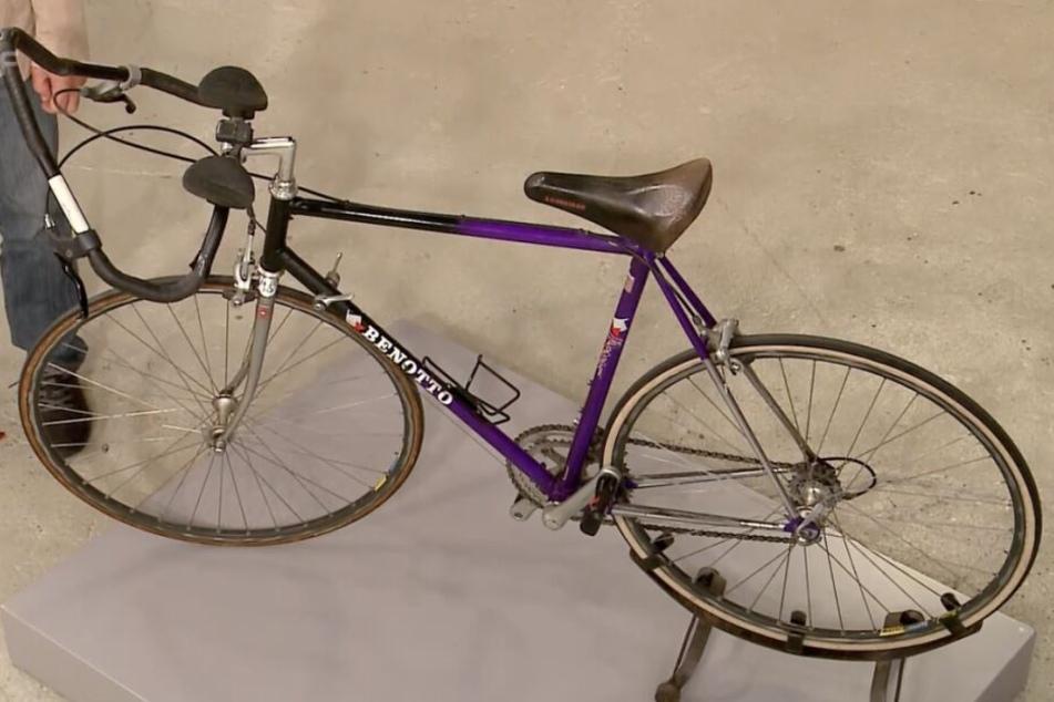 Das alte Rennrad fand einen neuen Besitzer.