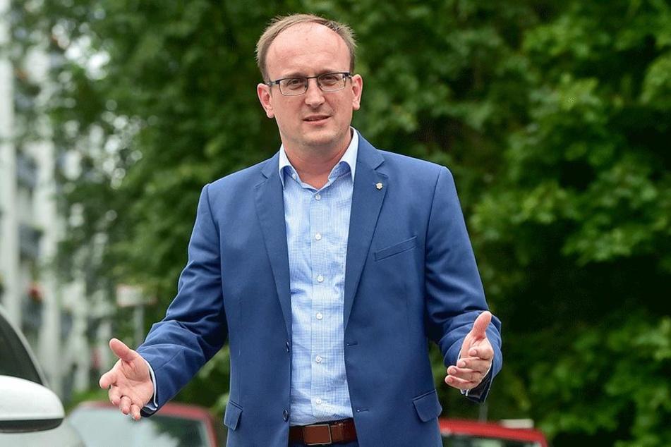 Jörg Vieweg (46, SPD) fordert einen Ausbau der A4.