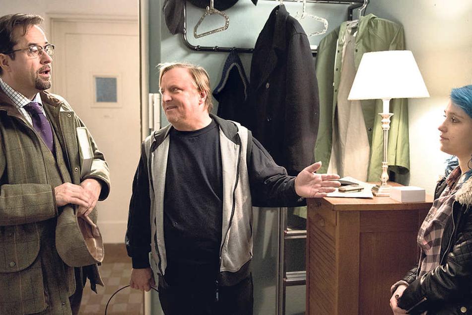 Gestatten, Leila. Thiel stellt Boerne seine angebliche Tochter vor.