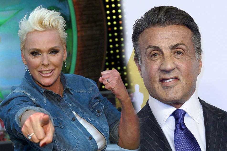 Brigitte Nielsen und Sylvester Stallone waren von 1985 bis 1987 verheiratet.