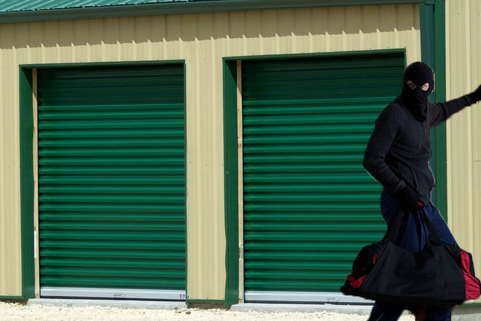 Spektakulärer Raubzug: Wie stiehlt man bitte eine komplette Garage?