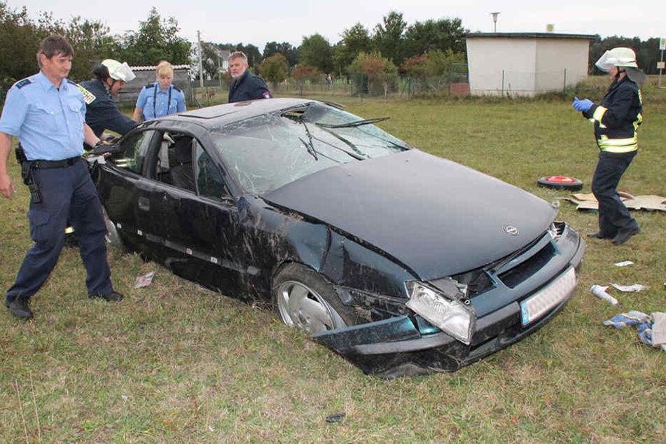 Ein Opelfahrer hat in Lohsa die Kontrolle über seinen Wagen verloren.