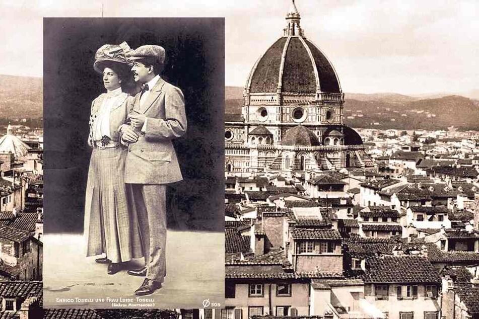 Luise heiratete 1907 den zwölf Jahre jüngeren Komponisten Enrico Tosell- Die Ehe hielt gerade mal ein Jahr, der gemeinsame Sohne blieb beim Vater.