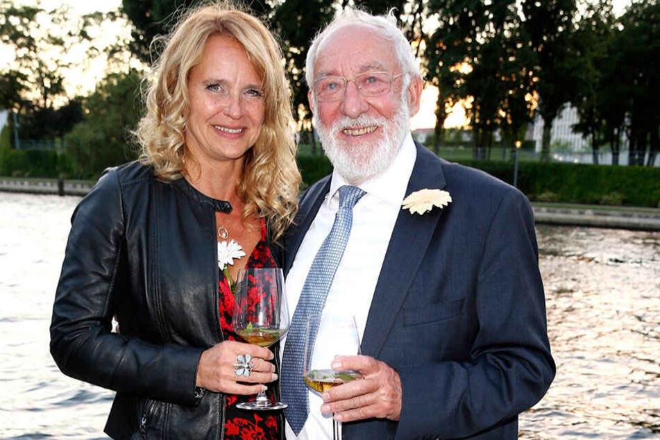 Spätes Liebesglück: Dieter Hallervorden (81) und Christiane Zander (46).