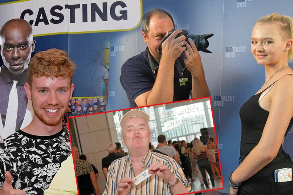 Großes Gedränge beim Ufa-Casting: Sie wollen die Superstars von morgen werden