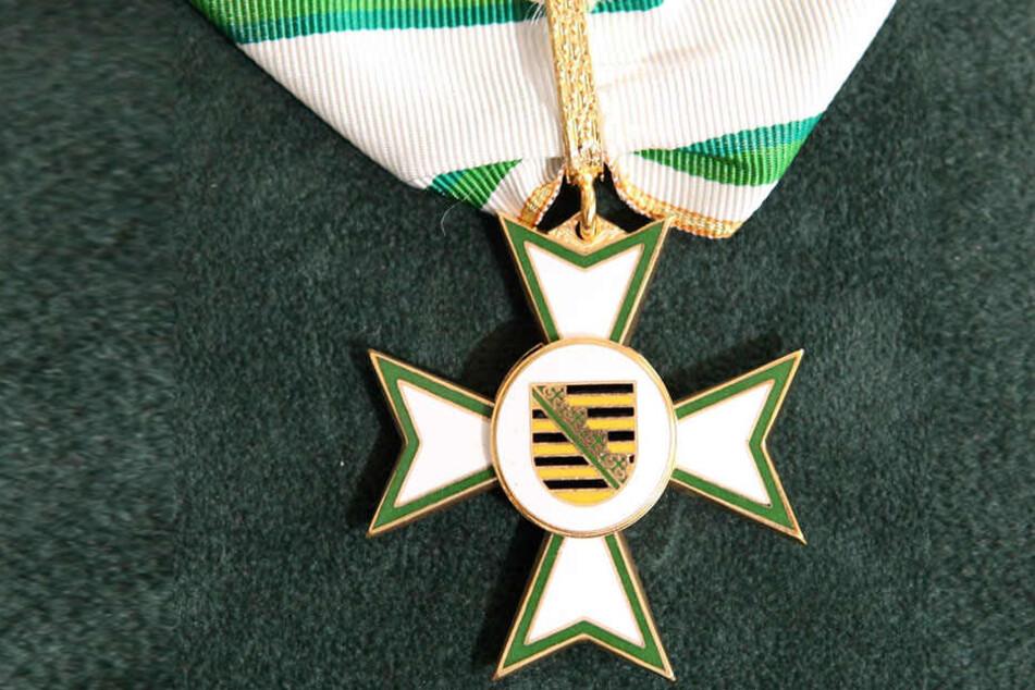 Der Sächsische Verdienstorden ist die höchste staatliche Auszeichnung des  Freistaates.