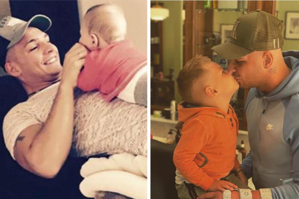 Schon seit seiner Geburt am 19. Juni 2015 kümmert sich Pietro Lombardi liebevoll um seinen Sohn Alessio.