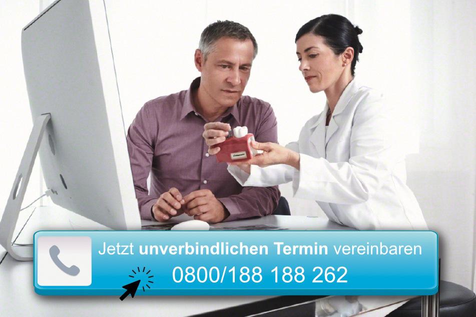 Das Klinik-Team investiert viel Zeit in die Beratung, um Euch umfassend zu untersuchen und informieren zu können.