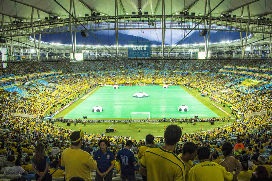 The world-famous Maracanã stadium in Rio has hosted some legendary soccer matches.